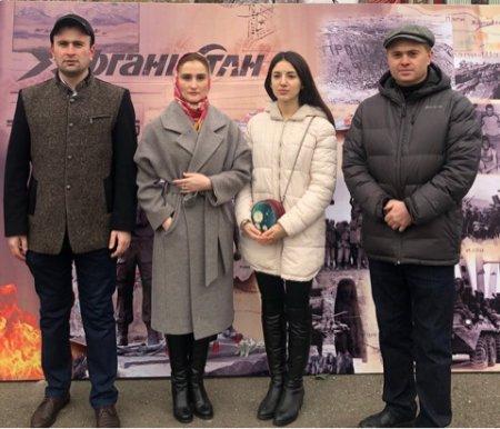 Митинг, посвященный 30-летию вывода советских войск из Афганистана